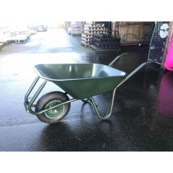 Steel Wheelbarrow with Single Wheel 95L