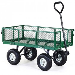 Heavy Duty Garden Trolley Light Green TC4211