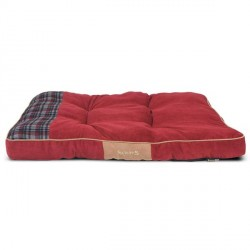 SCRUFFS Highland Mattress Red - Various Sizes