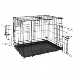 Animal Instincts Comfort Crate Dog Cage - Various Sizes
