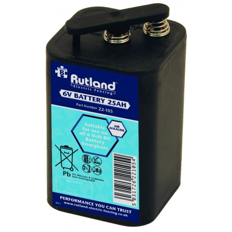 Rutland 6 Volt Battery