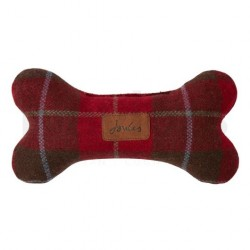 Joules Plush Red Tweed Bone