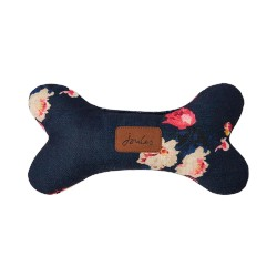 Joules Plush Navy Floral Bone