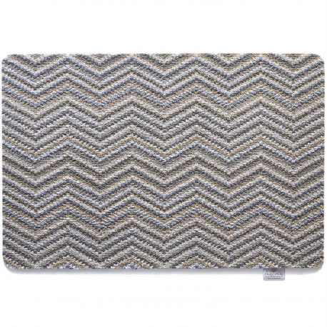 Hug Rug Select Portland Zigzag Runner 65cm x 150cm (Image is of standard 50 x 75)