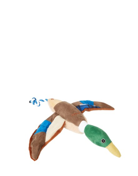 Joules Plush Printed Blue Duck Toy