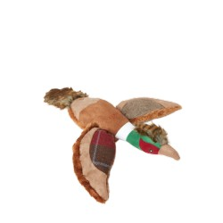 Joules Plush Red Tweed Pheasant Toy