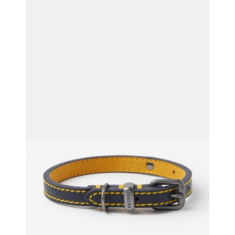 Joules Navy Leather Collar