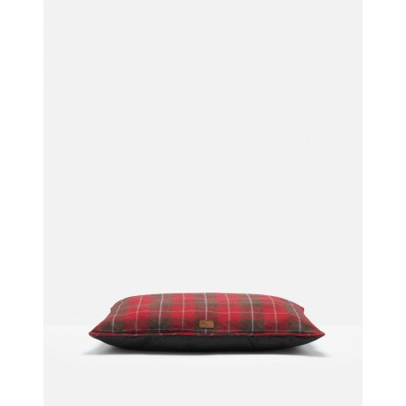 Joules Red Country Tweed Dog Mattress