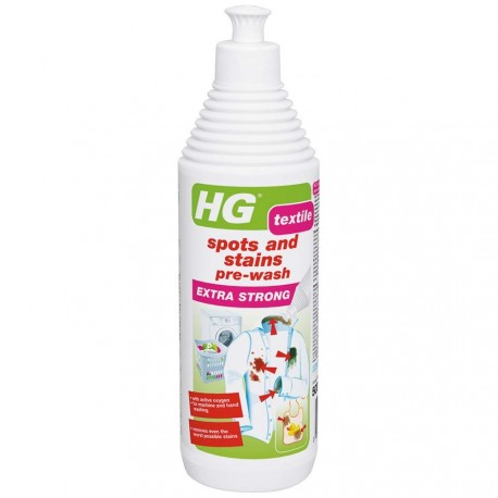 HG Spots and Stains Pre-Wash EXTRA STRONG 0.5L