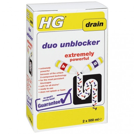 HG Hygienic Toilet Area Cleaner 0.5L