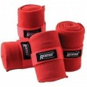 Roma Acrylic Stable Bandages Set of 4 Red