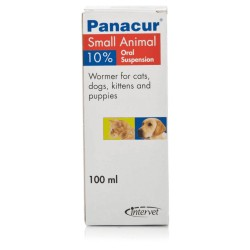 Panacur 10% Liquid for Cats & Dogs