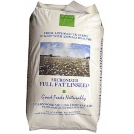 Charnwood Micronsd Linseed 20Kg