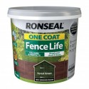 RONSEAL One Coat Fence Life Forest Green 5L