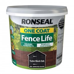 RONSEAL One Coat Fence Life Black Oak 5L