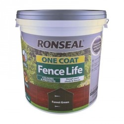 RONSEAL One Coat Fence Life Forest Green 9L