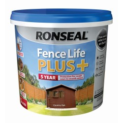 RONSEAL Fence Life Plus Country Oak 5L