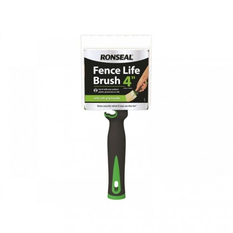 """Ronseal Fence life 4"""" Paint Brush"""