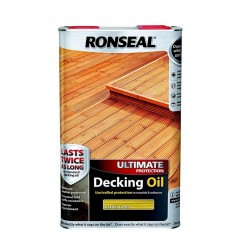 Ronseal Ultimate Decking Oil Natural Pine 5L