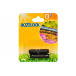 Hozelock Straight Connector 13mm - Pack of 2