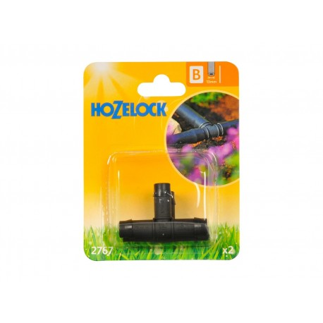 Hozelock 13mm Micro Irrigation T Connector
