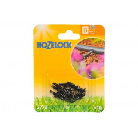 Hozelock Straight Connector 4mm - Pack of 10