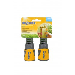 Hozelock Hose End Connector - Pack of 2