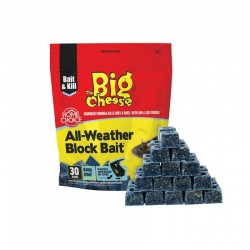 The Big Cheese All Weather Block Bait, Pack of 30