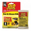 The Big Cheese Rodent Bait, Pack of 6