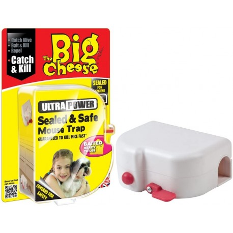 The Big Cheese Sealed and Safe Mouse Trap