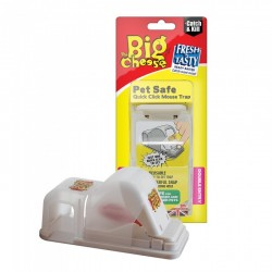 The Big Cheese Pet Safe Covered Mouse Trap