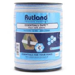 Rutland Essentials-Tape-Poly Tape 20mm 200m