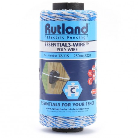 Rutland Essentials-Wire - Poly Wire 250m