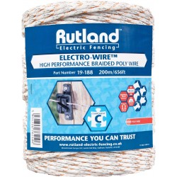 Rutland Braided Electro-Wire 200m
