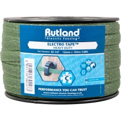 Rutland Green Electro-Tape 12mm x 100m