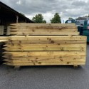 UC4 Post Sawn Pointed 1.8m x 125mm x 75mm