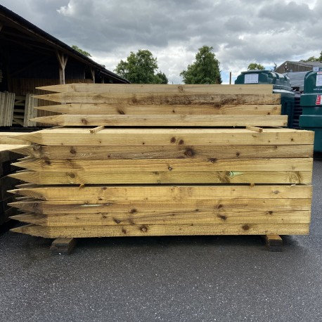 UC4 Post Sawn Pointed 2.1mm x 125mm x 75mm
