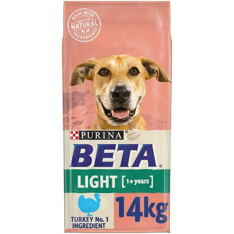 Beta Light Adult 1+ Years with Turkey 14KG