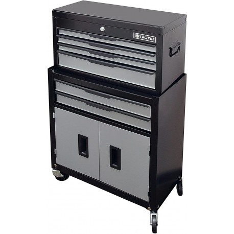 TACTIX 6-Drawer Rolling Tool Cabinet and Chest