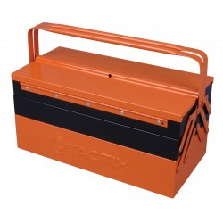 "TACTIX 5 Drawer Steel Tool Box 47cm (18.5"")"