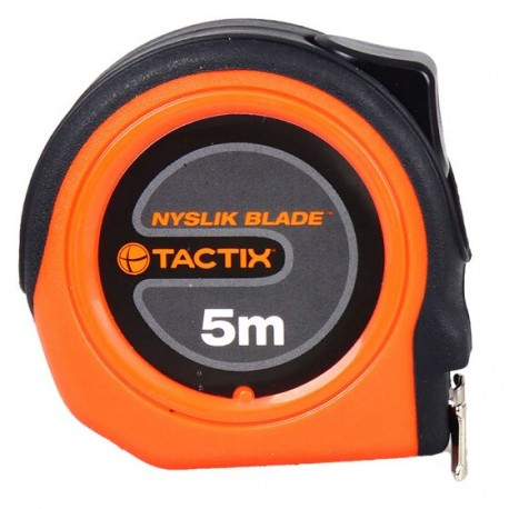 TACTIX Tape Measure 5m x 19mm - cm only