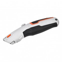 TACTIX Utility Knife Retractable Blade Heavy Duty with Spare Blades