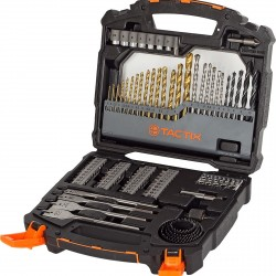 TACTIX Drill Bit Set 90 Piece