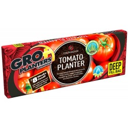 GROWMOOR Deep Fill Tomato Planter 56L - 3 For £12