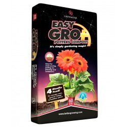 GROWMOOR Easy Gro+ Potters Compost 60L - 3 For £15