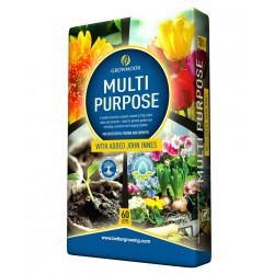 GROWMOOR Multi-Purpose Compost with John Innes 60L - 3 For £12