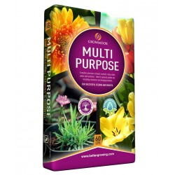 GROWMOOR Multi-Purpose Compost 60L - 3 For £12
