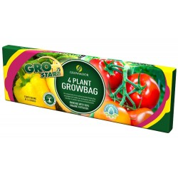 GROWMOOR 4 Plant Growbag 38L - 3 For £5