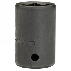 "Draper 17mm 1/2"" Sq. Dr. Impact Socket"