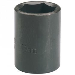 "Draper 19mm 1/2"" Sq. Dr. Impact Socket"